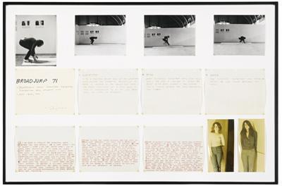 Vito Acconci-Broad Jump '71-1971