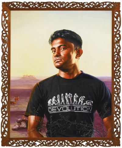 Kehinde Wiley-The Desert-2010