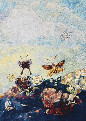 Vik Muniz-Butterflies, After Odilon Redon (From Pictures Of Pigment)-2006