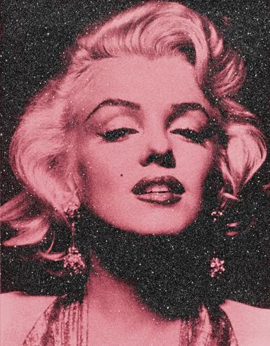 Russell Young-Marilyn Portrait-2014