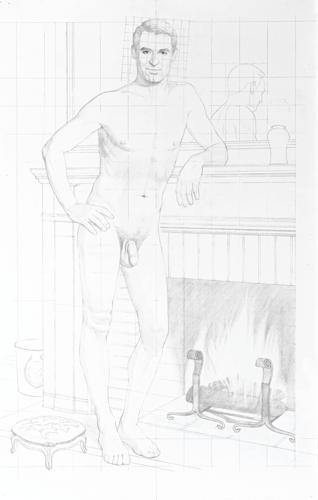 Kurt Kauper-Study For Cary Grant-2001