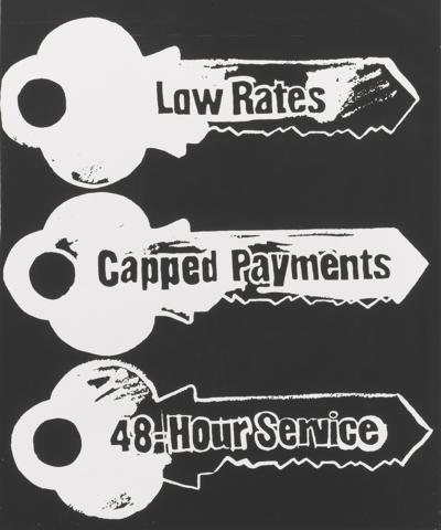 Andy Warhol-Key Service (Negative)-1985