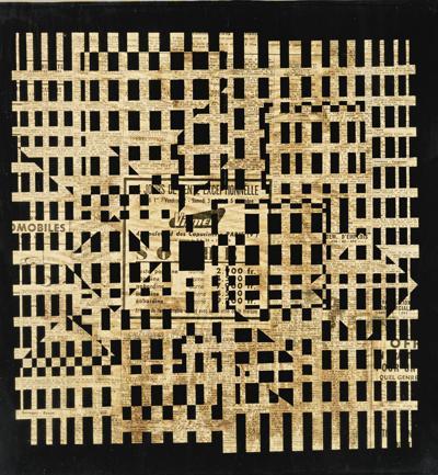 Victor Vasarely-Bug-1956