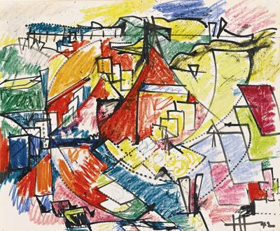 Hans Hofmann-Untitled-1942