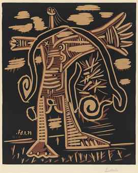 Pablo Picasso-Femme Nue Debout-1963