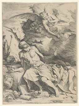 Jusepe de Ribera-(i) Saint Jerome And The Angel; (ii) Saint Peter, Penitent; (iii) The Martyrdom of Saint Bartholomew-1621