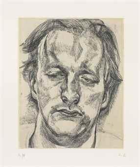 Head Of A Man-1987