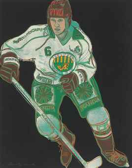 Andy Warhol-Frolunda Hockey Player-1986