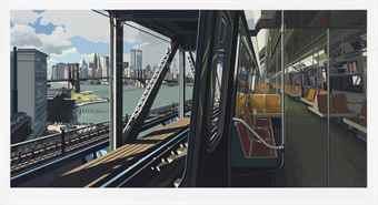 Richard Estes-D-Train-1988