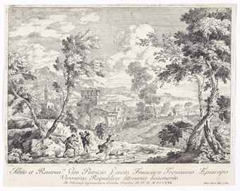 Marco Ricci-Four Plates From: Varia Marco Ricci Pictoris Prestantissimi Experimenta-1730