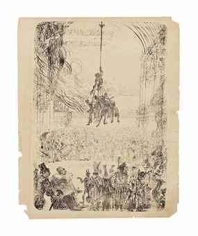 James Ensor-La Vengeance De Hop-Frog-1898