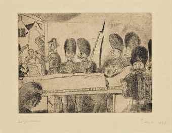 James Ensor-Les Gendarmes-1888
