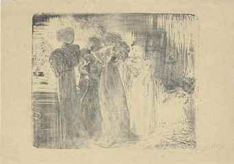 Edouard Vuillard-L'Atelier-1895