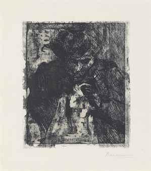 Umberto Boccioni-Madre Che Cuce-1910