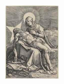 Hendrick Goltzius-Pieta-1596