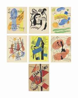 Fernand Leger-Arthur Rimbaud: Les Illuminations-1949