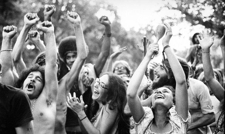1960s Youth Movements - Image via pinterestcom