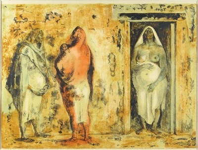 Three Native Women-1973