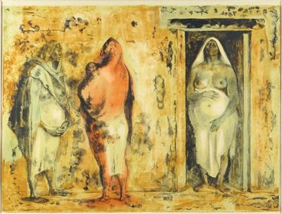 Francisco Zuniga-Three Native Women-1973