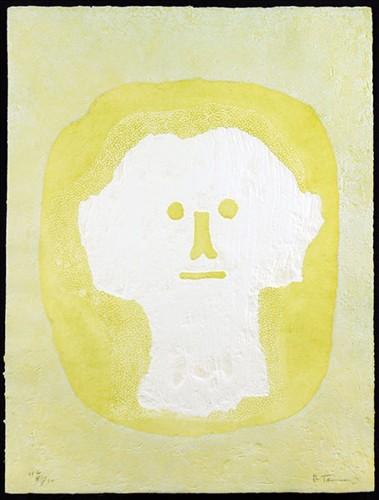 Rufino Tamayo-Cabeza Blanca-1976