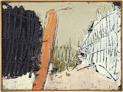 William Congdon-Piazza San Marco #20-