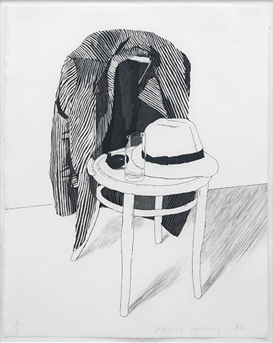 David Hockney-Panama Hat-