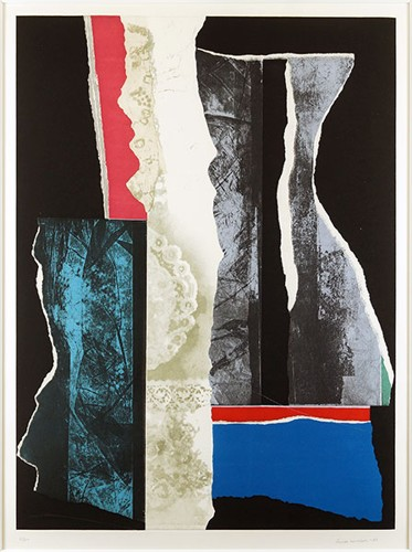 Louise Nevelson-Reflections IV-1983