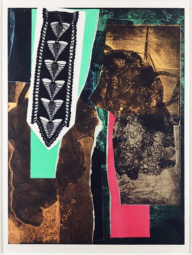 Louise Nevelson-Reflections V-1983