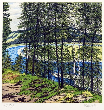 Neil Welliver-Synthetic Blue-St John-2000