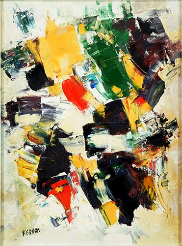Marcelle Ferron-Untitled Abstract-1961