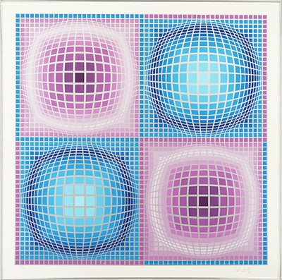 Victor Vasarely-Untitled-