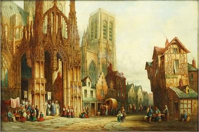 Henri Schafer-Louviers Normandy-1872