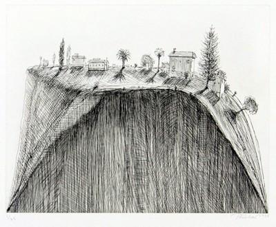 Wayne Thiebaud-Hilltop-1998