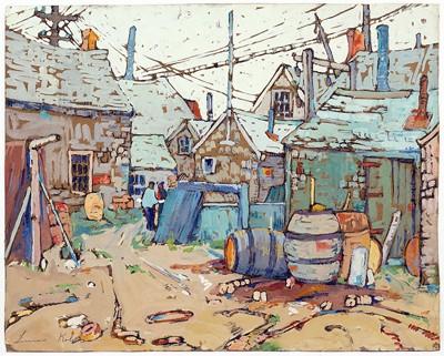 Irma Koen-Fish Houses at Rockport-