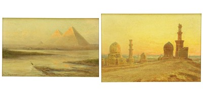 Paul Dominique Philippoteaux-Two Scenes of Egypt-