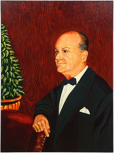 Artist Unknown - Portrait of Payson 'Bunky' Cushing-