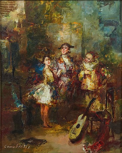 Joan Camo Sentis-The Performers-