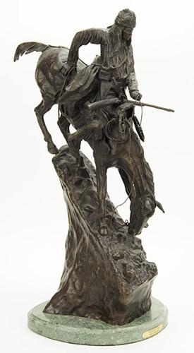 Frederic Remington-After Frederic Remington - Mountain Man-