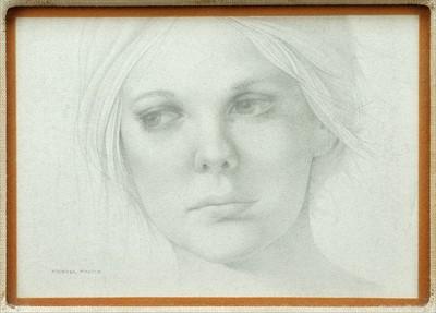 Michael Martin-Portrait of a Woman-