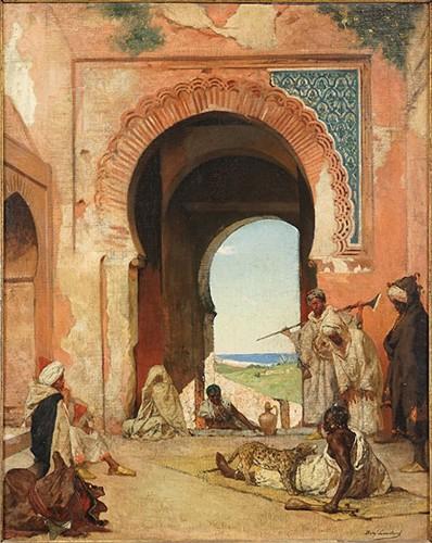 Benjamin Constant-Arab City Gate-