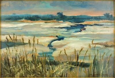 Jan Stanislawski-Winter Landscape-
