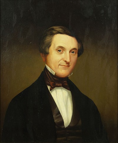 American School - Portrait Of A Gentleman-