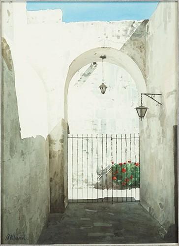 Altino Villasante-White Composition-