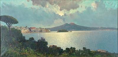 Ensel Salvi-View Of Naples-