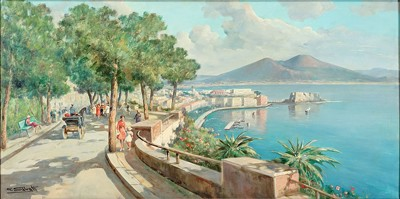 Giuseppe Salvati-Bay Of Naples-