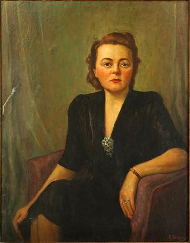 D Berney - Portrait of a Lady-