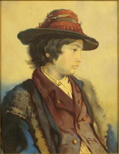 Edward Williams - Country Boy-1872