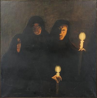 Artist Unknown - Untitled Figures-