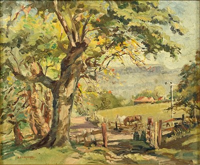 Henry Edgecombe-The Horse Farm-1948