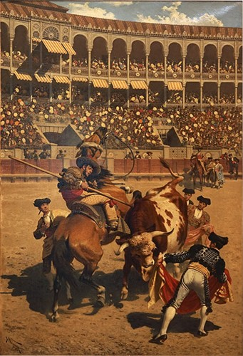 Karl Wagner-The Bullfight-